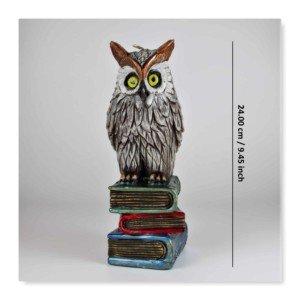 owl candle, handmade candle,