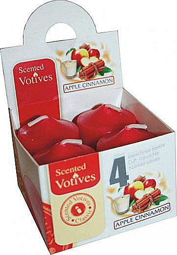 Scented Votive Candles-Green Apple