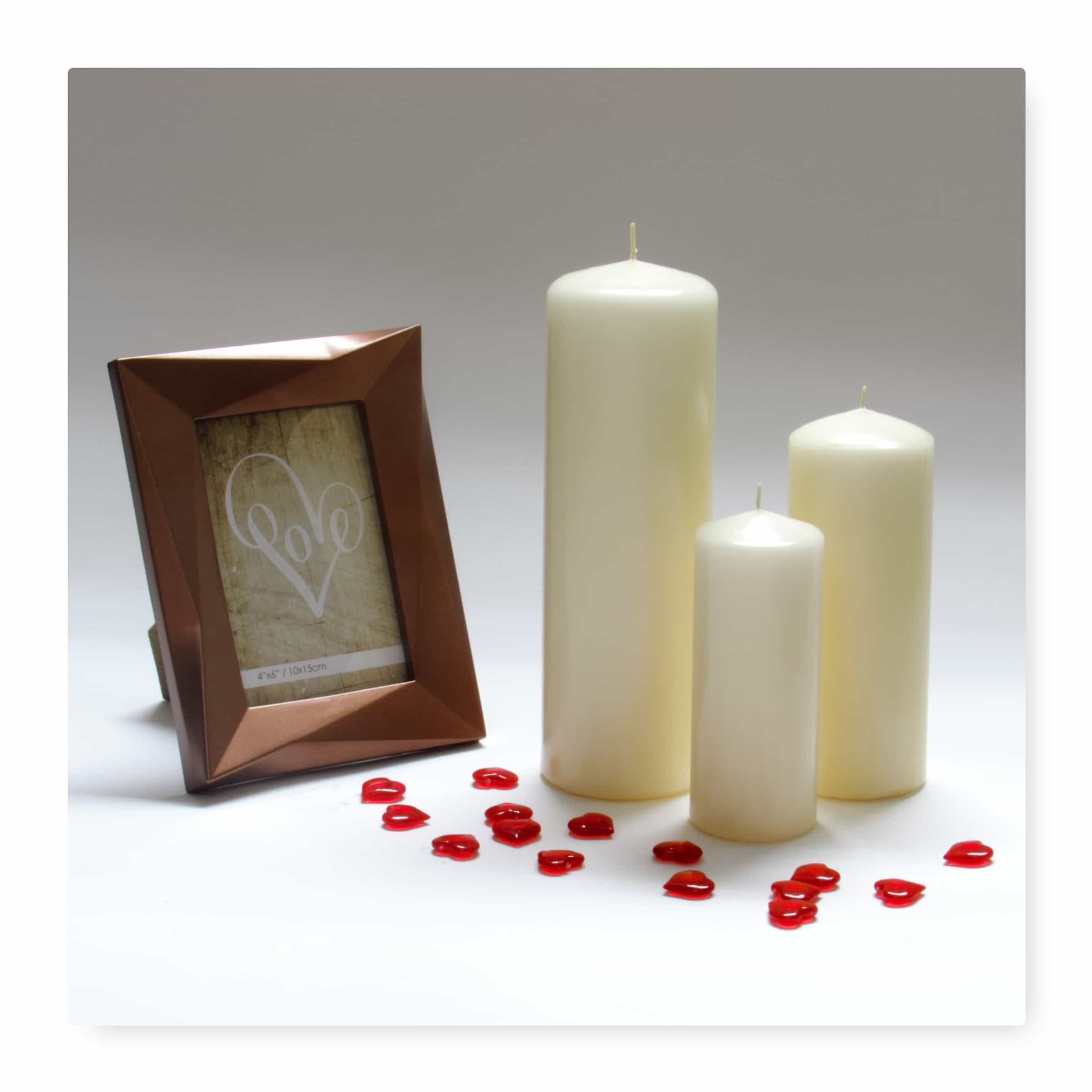 Ivory pillar candles candles wholesale factory store for Candele on line