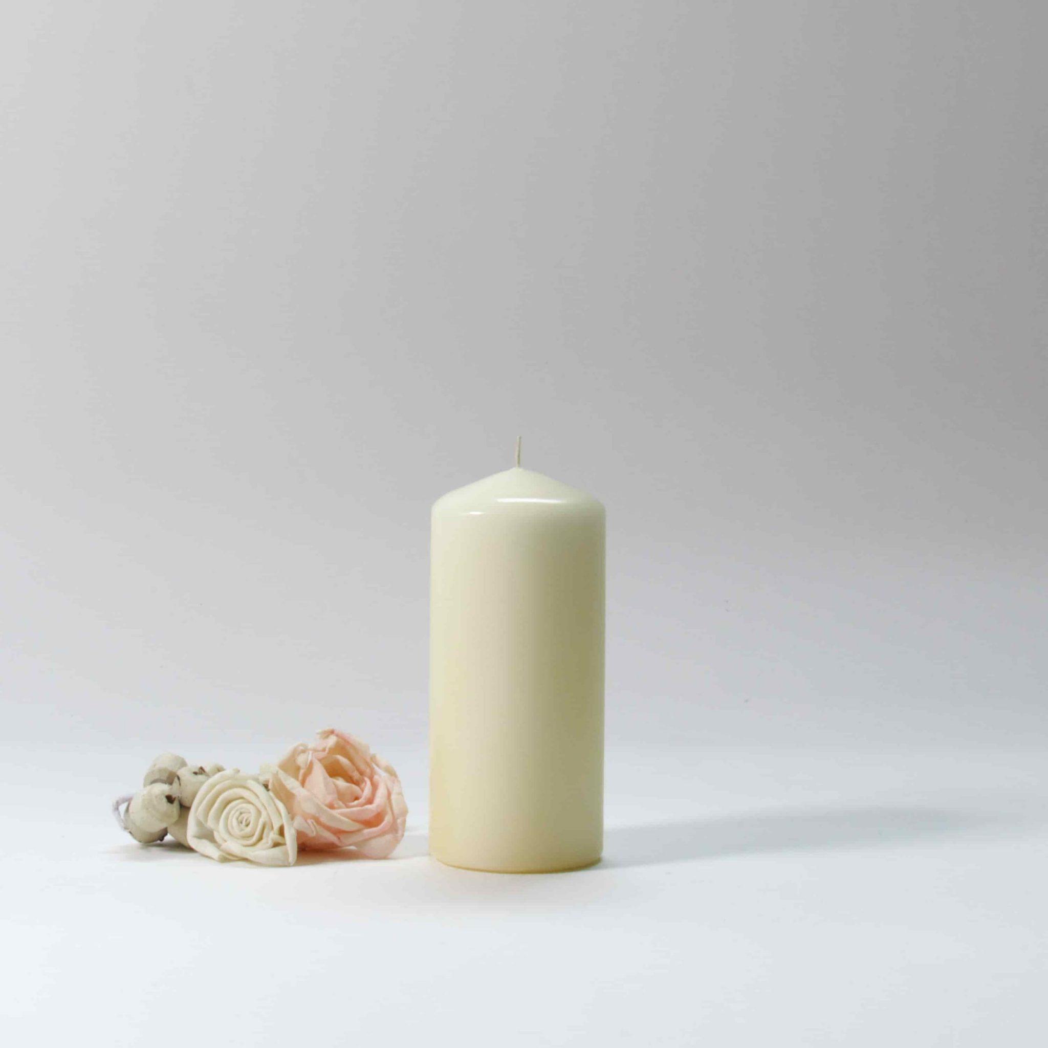 ivory pillar candles, large candles, pillar candles, large pillar candles, pillar candles bulk,