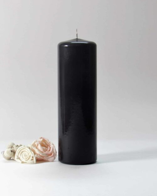 black candles, black pillar candles, black and white candles, black pillar candles bulk, wholesale black candles, black candles bulk,