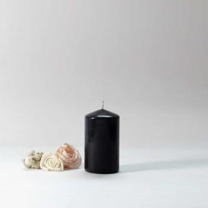black candles, black pillar candles, black and white candles, black pillar candles bulk, wholesale black candles, black candles bulk,