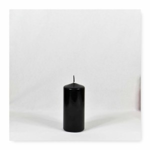 black candles, black pillar candles, black and white candles, black pillar candles bulk, wholesale black candles, black candles bulk
