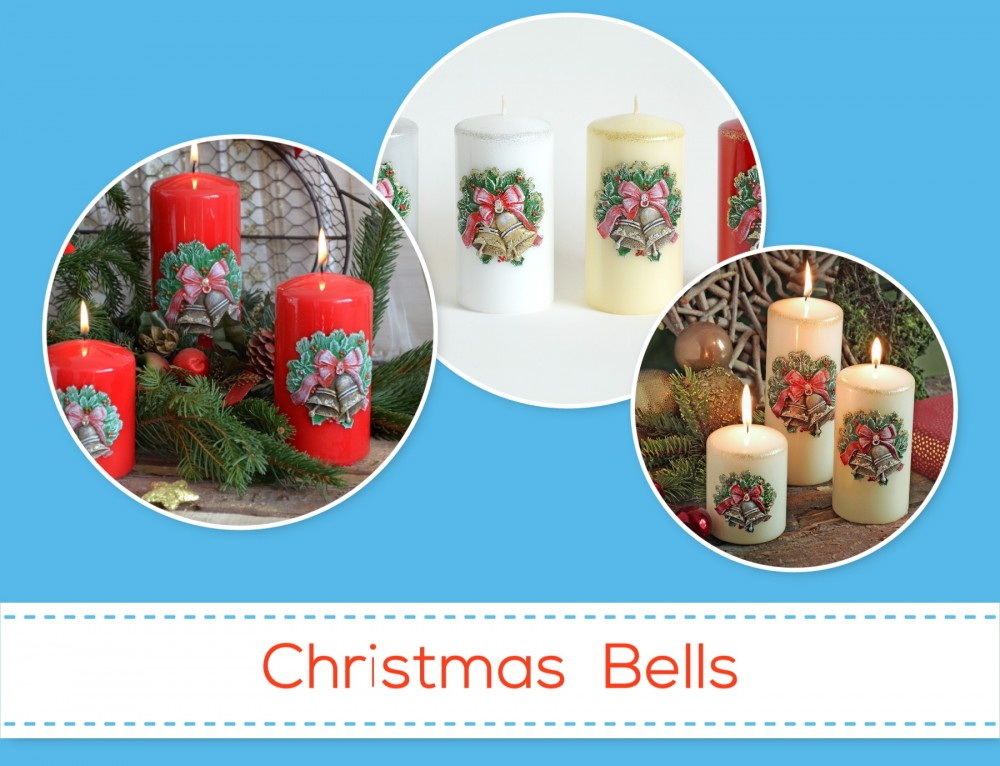Christmas Candles – Bell Collection