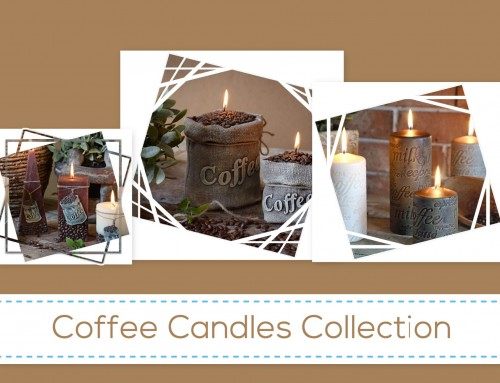 Decorative Candles-Coffee Candle Collection