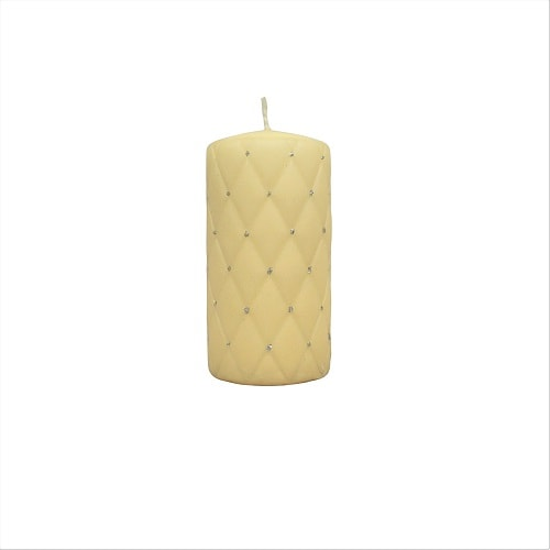 Hand-decorated Pillar Candle