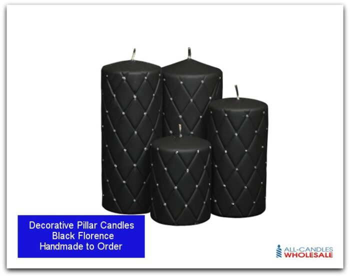 Decorative Handcrafted Pillar Candles