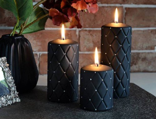 Decorative Candles – Florence Pillar Candles Collection