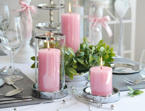 Scented Candles Glass Collection