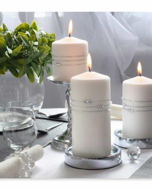 wedding candles,