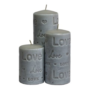 designer candles, wedding candles,