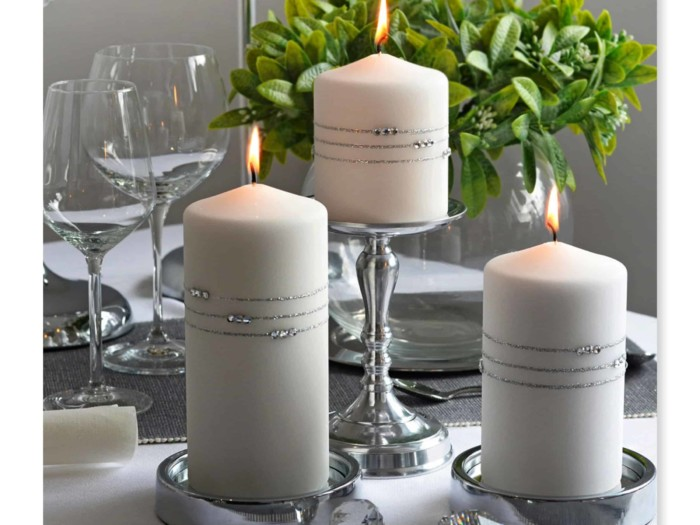 wedding candles,