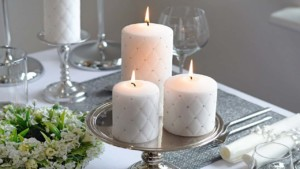 wedding candles, centerpieces,