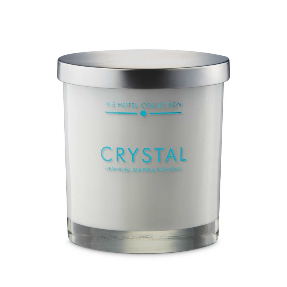 3 wick luxury scented candle in glass luxurious hotel for Candele on line