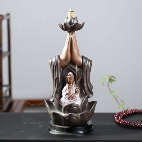 ceramic incense burner, incense burner,