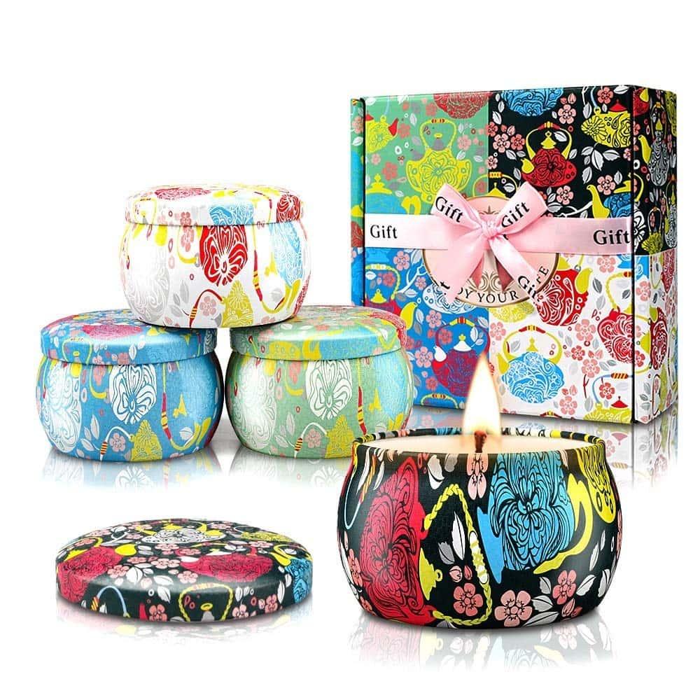 candle gift set,