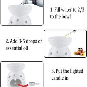 wax melt burner,ceramic wax burner