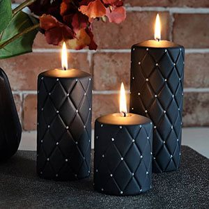 Decor Candles Black