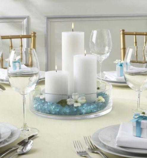 Pillar Candles White