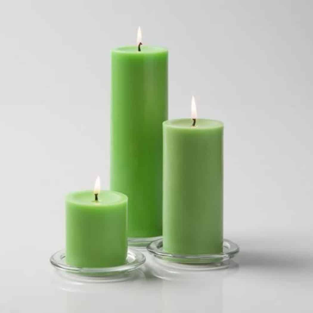 pillar candles,